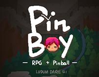 Pinboy | ludum dare 41 game jam