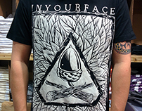 T-shirt for IYF from sketch to garment