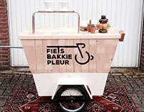 Fiets Bakkie Pleur - Mobile Slow Coffee Bar