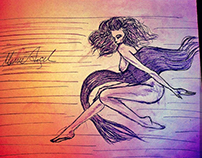 Karakalem-Rüzgar