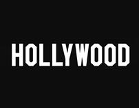 Hollywood Font / Reebok x NHL All Star Game 2017