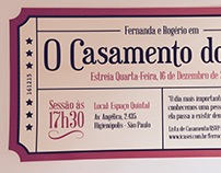 Convite de Casamento (Wedding Invitation)