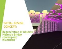 Regeneration of Kashmir Highway Underpass