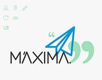 Máxima Logo & Visual Identity
