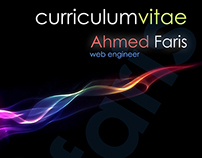 Curriculum Vitae | Ahmed Faris | Web Engineer | 2011