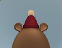 Mr. Bear   3D illustration