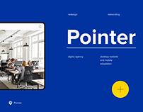 Redesign. Pointer Digital Agency
