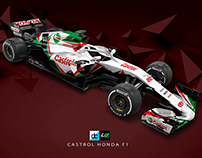 What If: Castrol Honda F1 Livery (Late Braking)