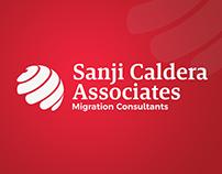 Sanji Caldera Associates | Logo Rebrand