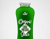 Allo Wello -ColdPressedJuice -Brand&Identity - P.Label