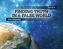 Covers & Leaflet - Finding Truth In A False World