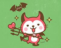 """Devils Cat""""Devi neko-kun"""""""