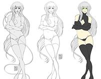 Scifi Character Design