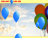Jeu Ballon Vollant