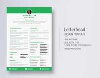 Cv/Resume & Cover Letter Title Design