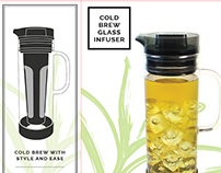 Cold Brew Glass Infuser