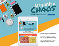 Organize Chaos: Content Marketing Microsite