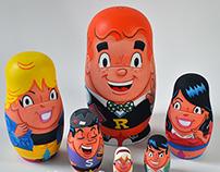 Archie Nesting Dolls