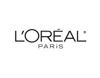 Créations graphiques produits L'Oréal