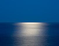 Moon Over Atlantic