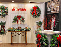 Tradeshow booth design / The Giving Wreath