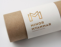 Minor Myanmar Co., LTD Logo and Corporate Identity