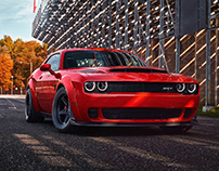 2018 Dodge Challenger SRT DEMON: Global Reveal