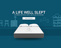 Mattress Design Web Design