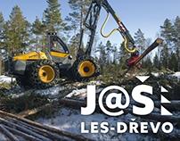 Logo for logging company J@Š