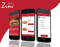 Zinc App Design and development