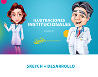 Ilustraciones Institucionales