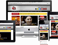 Aaj Tak - Responsive Website