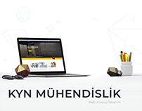 Kyn Mühendislik Web Tasarımı