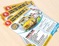 Bus Paints Flyer Design (Client Work)