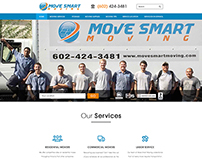 Mover & Packer Service Home Page design