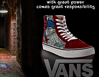 GRAPHIC DESIGN_Spidey Vans