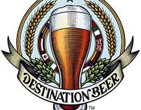Destination Beer Brand Mark Illustrated by Steven Noble