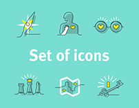 Storience set of icons