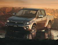 Mitsubiishi L200 - Full CGI and Retouching