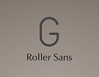 Typeface Design Roller Sans
