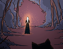 Cadha - The Forest Witch comic #01