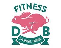 DB Fitness Logo Design