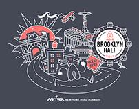 NYRR Five-borough Series participant shirts