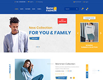 eCommerce PSD Temaplate