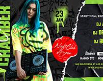 Free DJ Party Facebook Templates