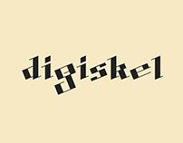 DIGISKEL FREE FONT
