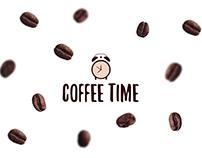 "Logo for coffee shop ""Coffee Time"""