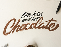 Chocolate Lettering