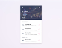 Events Around your City App Concept
