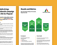 WEB - infographics for a case study